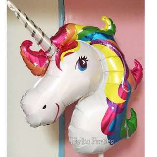 Unicorn Balloon [Helium + Weight]