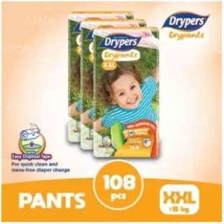 Drypers Drypantz XXL36 (3 pack)