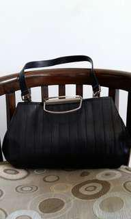 BCBGMaxazria Black Handbag Authentic (Reprice)