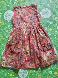 Girl Dress cotton in