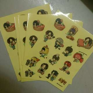 SEVENTEEN FANART STICKET