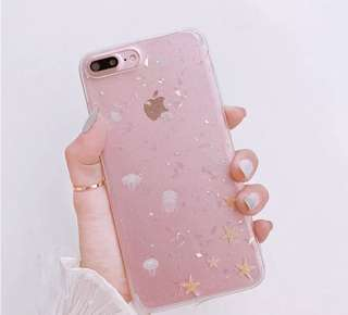 透明水母iPhone Case