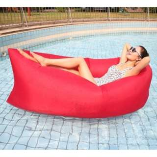 Prelove Banana Air Bed (red/thick)