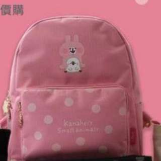 卡娜赫拉 Kanahei 台灣代購 粉紅 背包 雙肩包