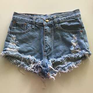 ⚡️SALE⚡️Ripped Denim Shorts