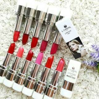 Lipstick Loreal 2 IN 1 white