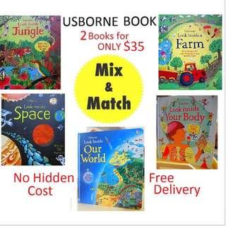 Usborne Look: Mix & Match