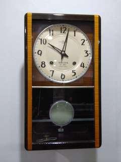 Vintage Clock Seiko 14 days
