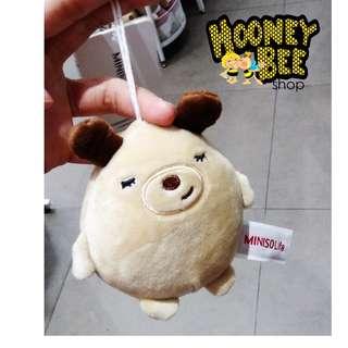 Japan Quality - Hiasan Gantungan Boneka Doggy Miniso Import