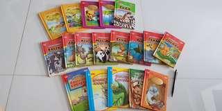18pcs english children storybooks