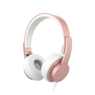Urbanista Seattle Corded Wired Headphones (Rose Gold)