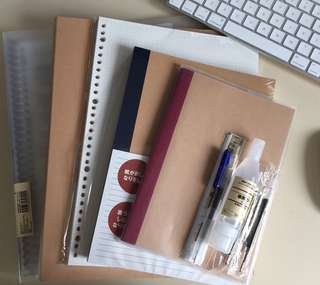 Muji stationary grabbags!!