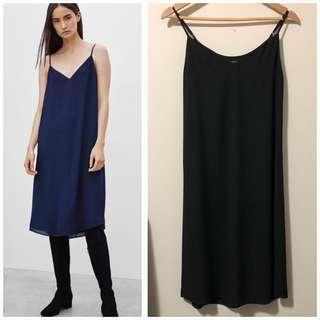 Aritzia Babaton XXS Black Templeton Dress
