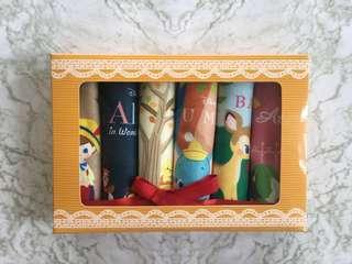 Handuk Disney Story Dumbo Pinocchio Bambi Winnie The Pooh Alice Gift Set