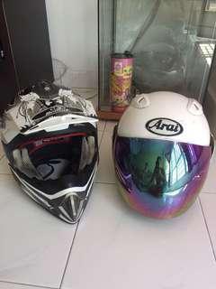 Helmet nk clear🤩