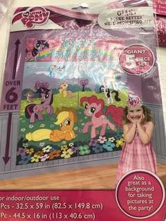 My little pony BN giant scene setter