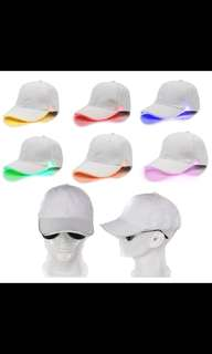 Led light hat / cap Party/Disco/Events (Available)