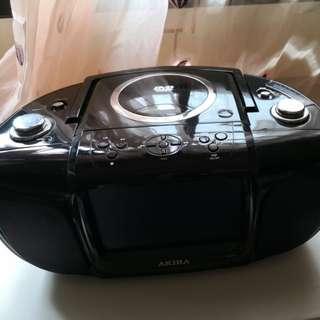 Akira radio, CD palyer
