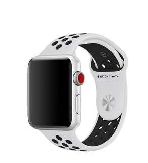 42mm Apple Watch white/black Sports Band