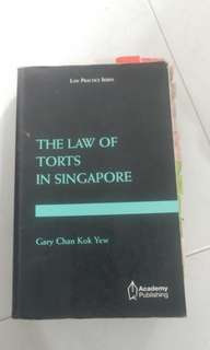 The Law of Torts in Singapore
