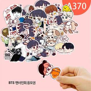BTS cartoon stickers