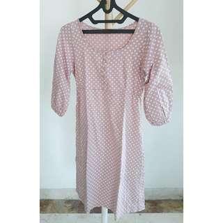 Graphis Pink Polkadot Dress