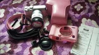 Fujifilm x-a10 (Pink)