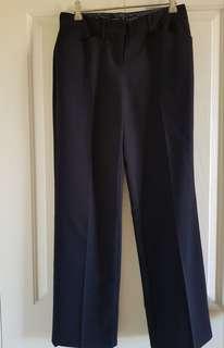 Tokito tailored black pants, size 8