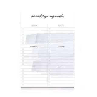 🚚 A5 Weekly Agenda