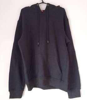 Navy blue hoodie jacket