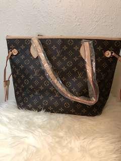 Louis Vuitton never full