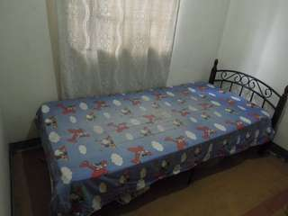 Single Bed Frame and URATEX Mattress