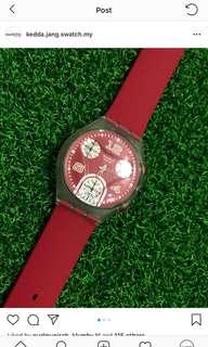 Chronograph swatch