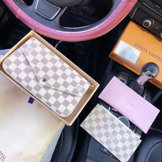 Louis Vuitton chain wallet 3 in 1