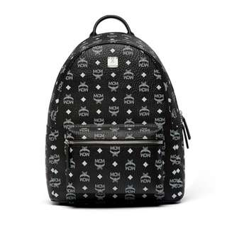 MCM leather Logo Backpack