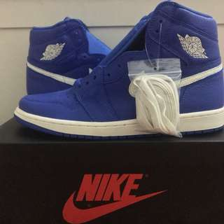 "Nike Air Jordan 1 High OG ""Hyper Royal"" BNIB"