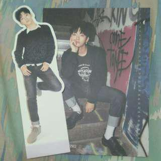 WTS wanna One nothing without you jisung standee and Cc
