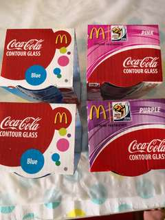 McDonald's Contour Glass (assorted)