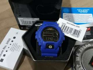Almost New !!! Casio G-Shock GLS-6900-2DR