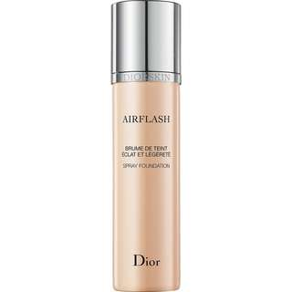 Dior Airflash Spray Foundation In 301 Sand