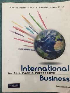 🚚 International Business (An Asia Pacific Perspective)