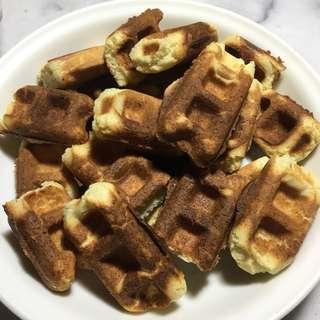 🚚 自製美口鬆餅❤️❤️❤️超像外面賣的超好吃!