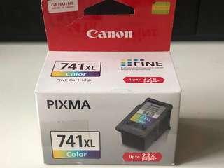 全新未開Canon 741XL color打印機墨水