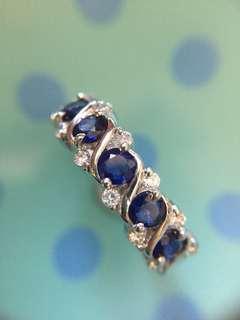 💙💎💙✨ 靚仔藍寶石戒指 ✨💙💎💙