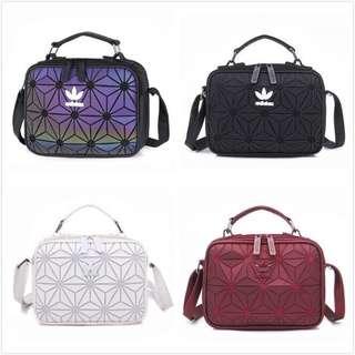 ADIDAS Geometric sling bag 3D