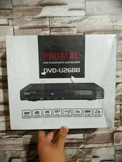 PROMAC DVD Player with USB Reader