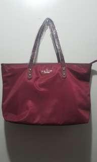 Kate Spade Large Tote Maroon bag