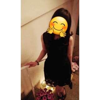 Nyla little black dress lucuk