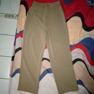 Celana Kulot / Culottes Pants / Cullotes Pants / Brown Culottes Pants