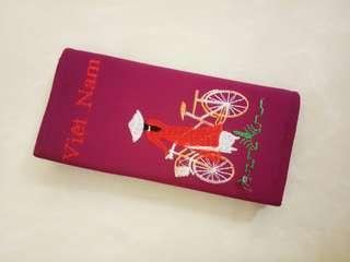 #openbarter dompet viet nam ungu / purple wallet